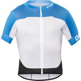 POC Raceday Climber Maillot de cyclisme Homme, garminium blue/hydrogen white